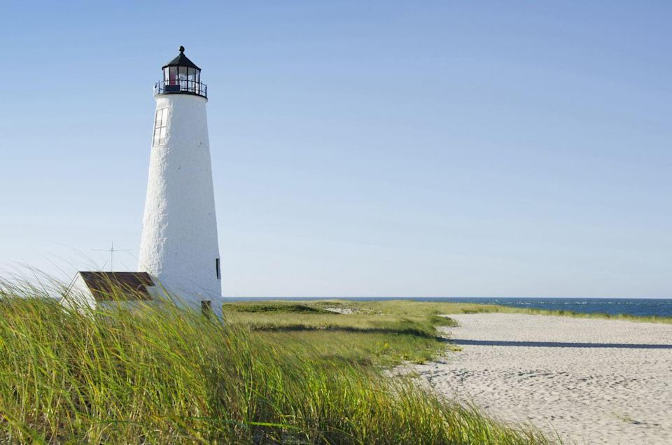 """<p>This tiny island off the coast of Massachusetts is a popular tourist destination for New England folk. <a href=""""https://www.tripadvisor.com/Attraction_Review-g29527-d107587-Reviews-Jetties_Beach-Nantucket_Massachusetts.html"""" rel=""""nofollow noopener"""" target=""""_blank"""" data-ylk=""""slk:Jetties Beach"""" class=""""link rapid-noclick-resp"""">Jetties Beach</a> is a fan favorite spot, featuring amenities, calm waters, a playground, <a href=""""https://jettiessandbar.com/"""" rel=""""nofollow noopener"""" target=""""_blank"""" data-ylk=""""slk:Sandbar restaurant"""" class=""""link rapid-noclick-resp"""">Sandbar restaurant</a>, and spectacular views. A less crowded option is Surfside Beach, located on the southern shore, which is a hub for surfers. Non-beach activities that make a visit to Nantucket worthwhile include <a href=""""http://www.thetrustees.org/places-to-visit/cape-cod-islands/coskata-coatue.html"""" rel=""""nofollow noopener"""" target=""""_blank"""" data-ylk=""""slk:Coskata-Coatue Wilf Refuge"""" class=""""link rapid-noclick-resp"""">Coskata-Coatue Wilf Refuge</a>, the <a href=""""https://nha.org/visit/museums-and-tours/whaling-museum/"""" rel=""""nofollow noopener"""" target=""""_blank"""" data-ylk=""""slk:Whaling Museum"""" class=""""link rapid-noclick-resp"""">Whaling Museum</a>, and <a href=""""https://www.nps.gov/nr/travel/maritime/brn.htm"""" rel=""""nofollow noopener"""" target=""""_blank"""" data-ylk=""""slk:Brant Point Lighthouse"""" class=""""link rapid-noclick-resp"""">Brant Point Lighthouse</a>.</p>"""