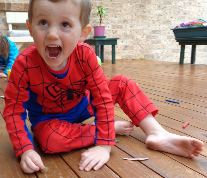 A supplied image obtained Saturday 13th Sept, 2014 shows three year old boy William Tyrrell, missing from a home in Kendall NSW. Source: AAP