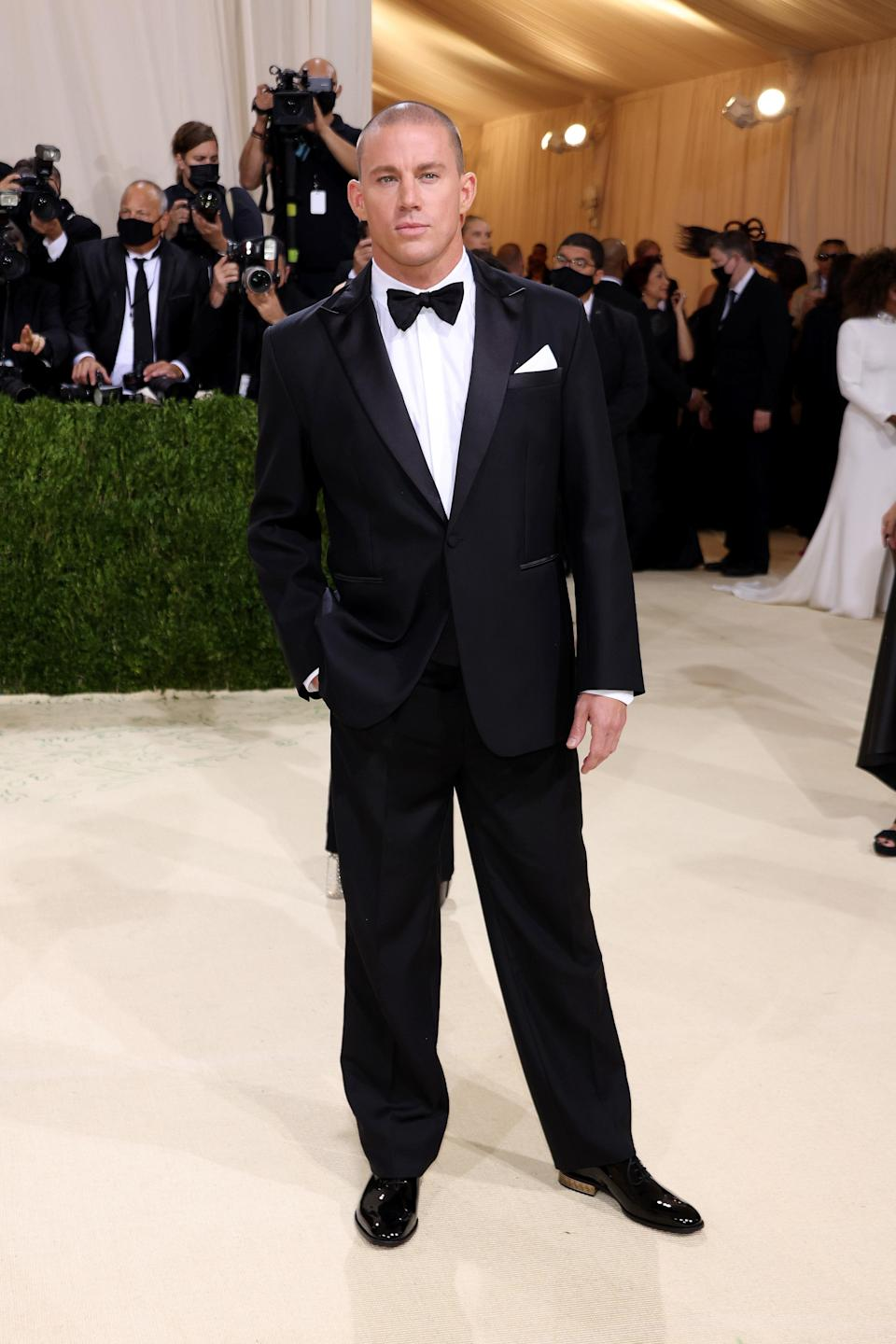 """<h1 class=""""title"""">Channing Tatum, The 2021 Met Gala Celebrating In America: A Lexicon Of Fashion - Arrivals</h1><cite class=""""credit"""">Getty</cite>"""