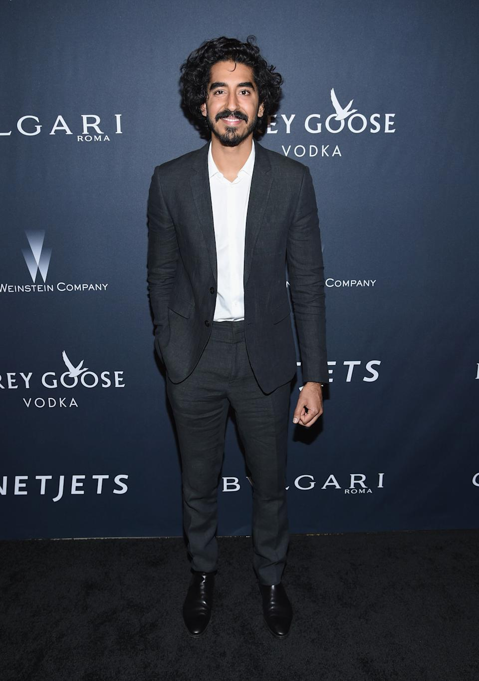 Patel at a pre-Oscar event at the Montage Beverly Hills on Feb. 25, 2017.