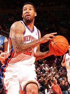 The Knicks took forward Wilson Chandler with the No. 23 pick in the 2007 draft