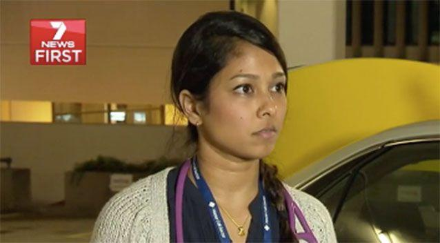 Dr Shalini Maran says 50 per cent of her house calls at the moment are flu and gastro-related. Source: 7 News