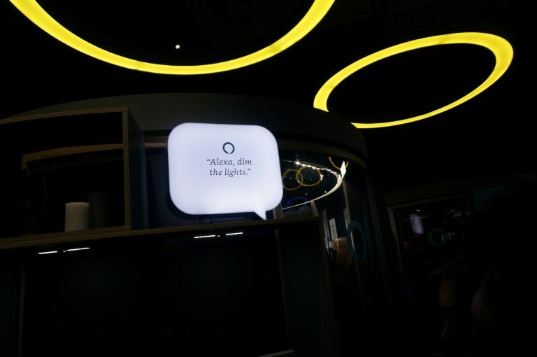 Amazon is expanding into autos with more in-vehicle services for its Alexa digital assistant, and will make Fire TV an in-car entertainment system (AFP Photo/Robert LEVER)
