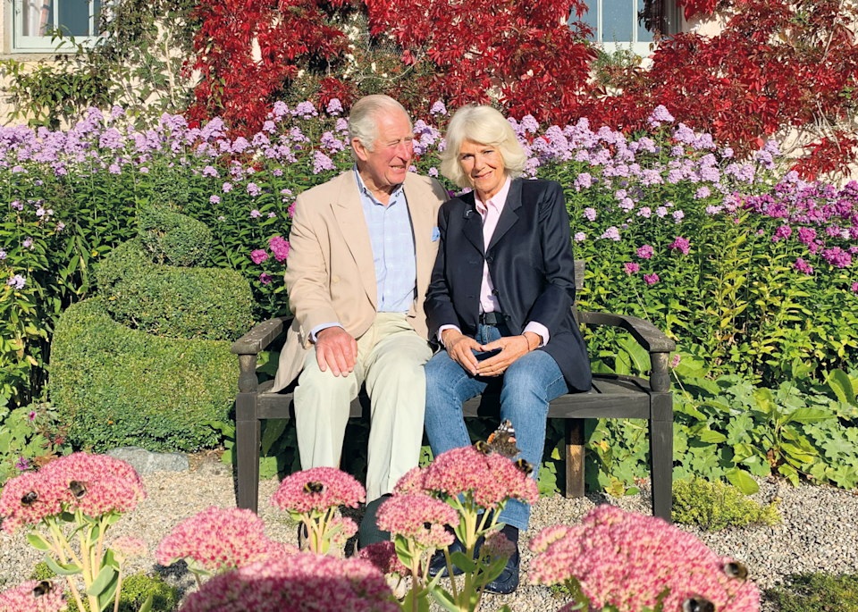 <p>Prince Charles and Camilla chose a casual photo taken by a member of their staff for their annual holiday card.</p>