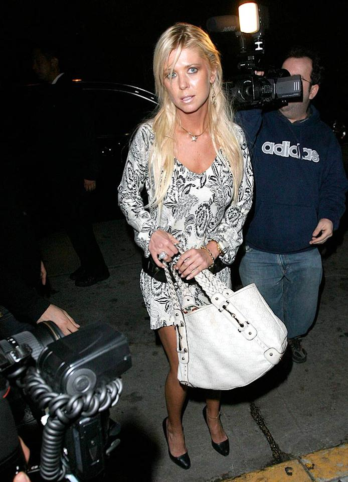 "Ditching Carson Daly back in the day wasn't a bad idea, but everything Tara Reid has done since then has proven to be a mistake. From fashion malfunctions to botched plastic surgeries and everything in between, the tanned train wreck is desperately in need of some good luck. Alphax/<a href=""http://www.x17online.com"" target=""new"">X17 Online</a> - April 9, 2008"
