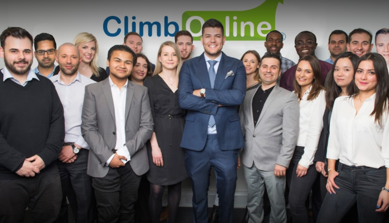 Mark Wright and the team at Climb Online