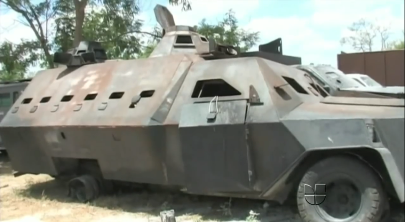 7 incredible narco tanks built by Mexican cartels - photo#17