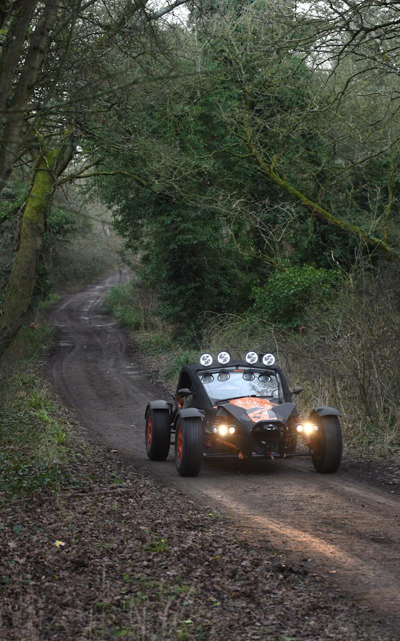 Ariel Nomad 2017 - Credit: Jay Williams