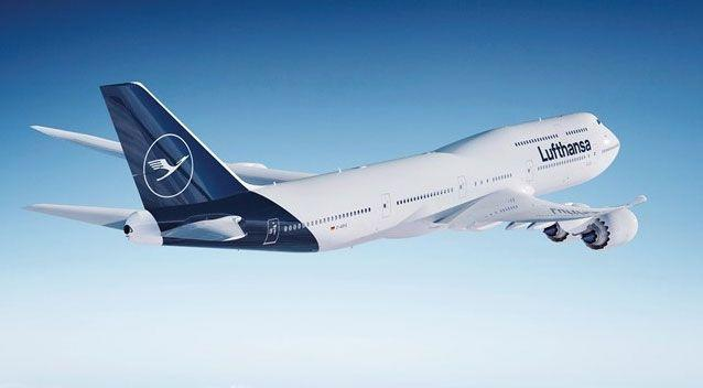 An artist's impression of the new design reveals its navy tint. Source: Lufthansa