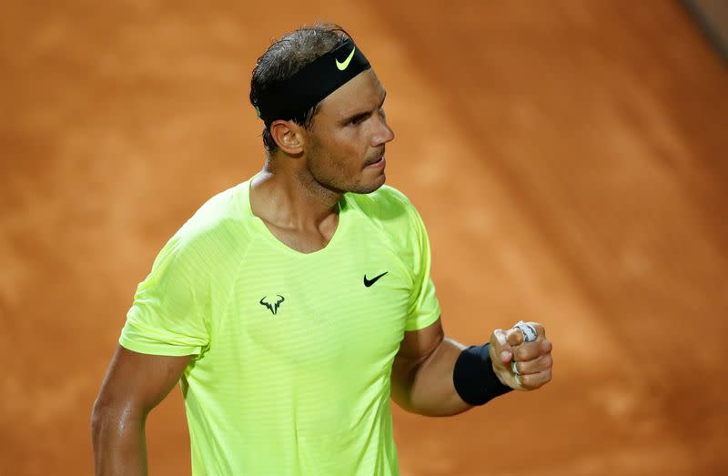 Nadal's Parisian procession threatened by long lay-off