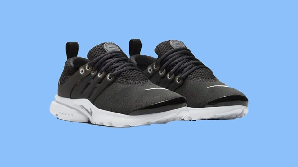 Parents who bought this set of Nike Air Presto shoes for their toddlers praised their style and comfort level.