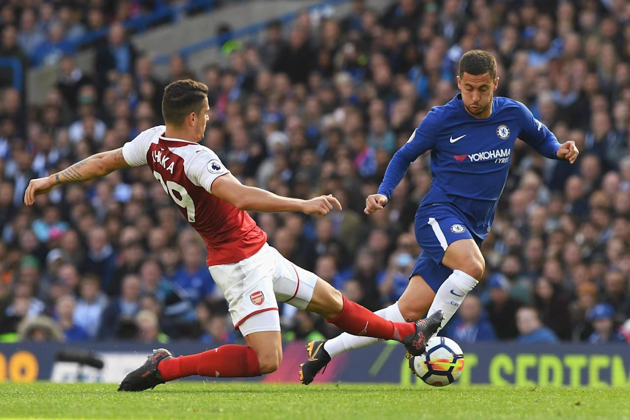 Eden Hazard could start for Chelsea against Nottingham Forest in League Cup