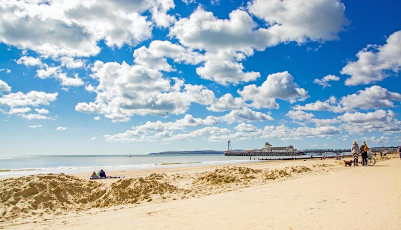 Bournemouth Beach was ranked Europe's 5th best beach this year, and the UK's number one