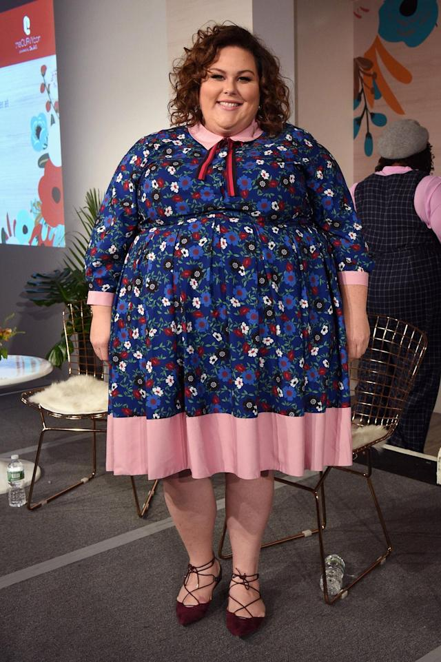 <p>Actress Chrissy Metz speaks onstage at the 3rd annual theCURVYcon during New York Fashion Week on September 9, 2017 in New York City. (Photo by Bryan Bedder/Getty Images for Curvy Events, LLC) </p>