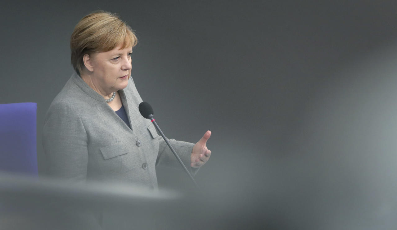 Photo of Merkel defends Germany's UN voting file on Israel