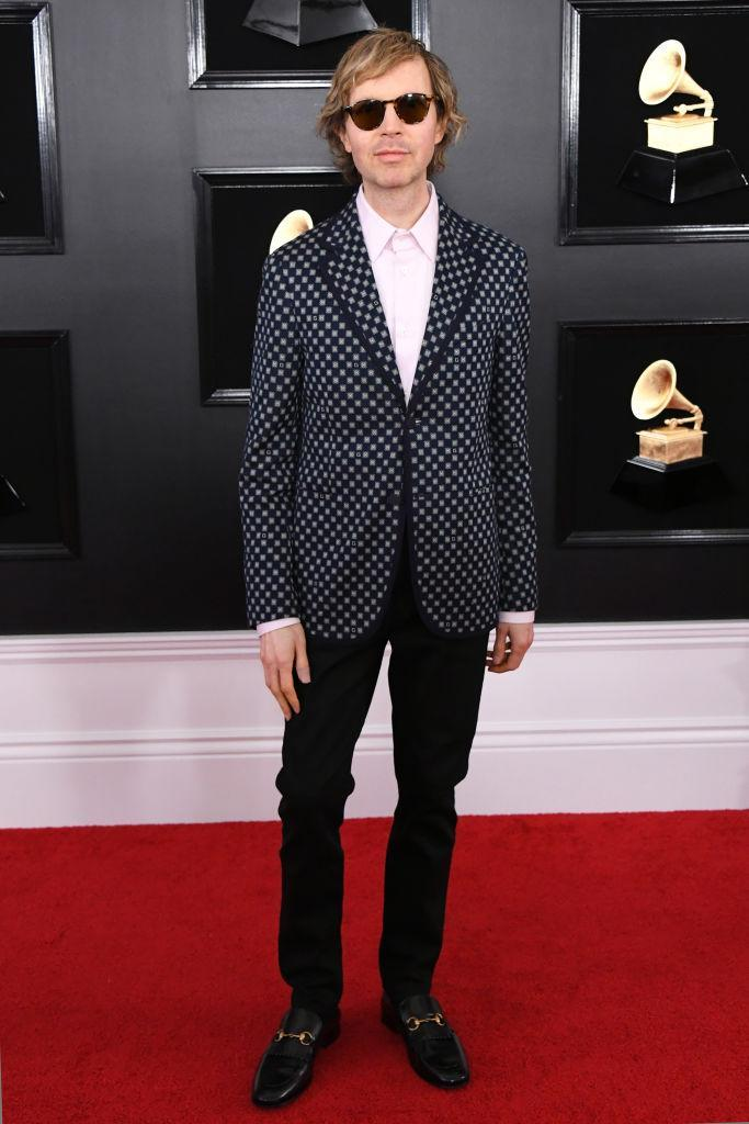 <p>Beck attends the 61st annual Grammy Awards at Staples Center on Feb. 10, 2019, in Los Angeles. </p>