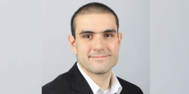 Alek Minassian is pictured in a photo from LinkedIn.
