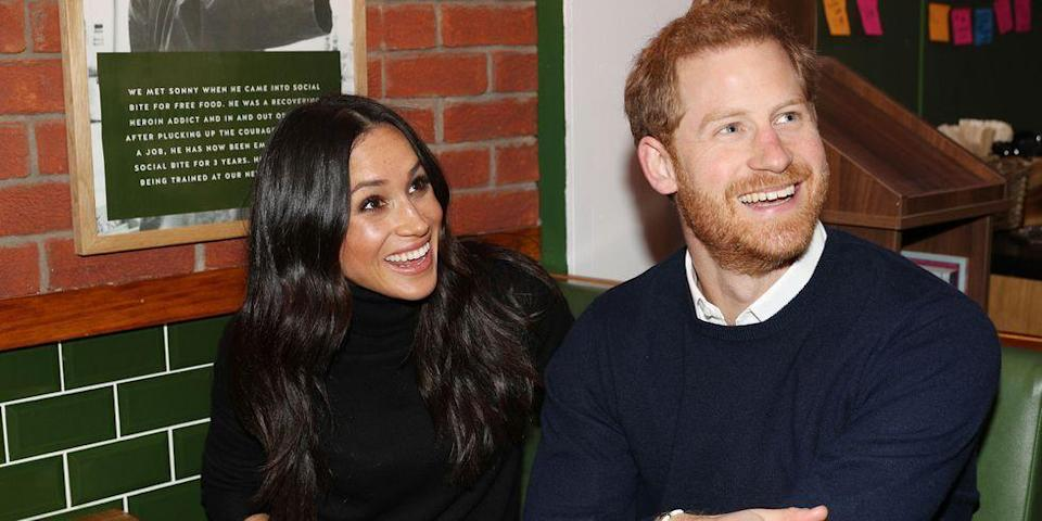 <p>During their trip to Edinburgh, Scotland, the couple visited Social Bite, a business and cafe, offering up their biggest mega-watt smiles.</p>