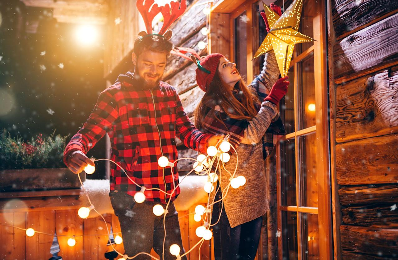 """<p>Once you get them untangled, outside Christmas lights are key to the postcard-perfect <a href=""""https://www.goodhousekeeping.com/holidays/christmas-ideas/"""" target=""""_blank"""">Christmas</a> scene. Wrap 'em around porches and stair rails, stuff them in trees and bushes, and deck out just about everything else for the <a href=""""https://www.goodhousekeeping.com/holidays/christmas-ideas/how-to/g2203/christmas-decoration-ideas/"""" target=""""_blank"""">most cheerful house in town</a>. You can't go wrong with the classic string lights, but we also love the idea of mixing it up. There are so many ways to transform your home into the winter wonderland of your dreams, and we've found 15 different ways to do it. </p><p>Light projectors and unique string light designs are all very real items that will brighten up your Christmas decor this year. Some are so eco-friendly that they're solar-powered, and others have battery packs so you don't have to try to hide your extension cord. Whether you're going for a snowy white color scheme or want every color in the rainbow displayed, these options are sure to match your vision. Now it's time to scope out your ideal outdoor Christmas lighting setup, and then you can start planning how you'll decorate the inside of your home (Don't worry — we have <a href=""""https://www.goodhousekeeping.com/holidays/christmas-ideas/how-to/g2203/christmas-decoration-ideas/"""" target=""""_blank"""">all the inspo you need</a> to tackle that part of your home too!). </p>"""