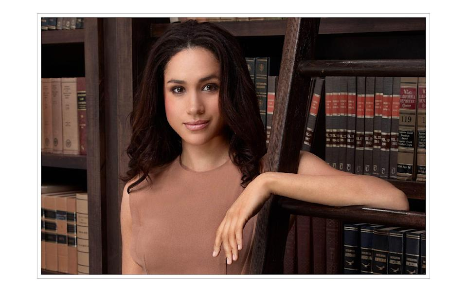 As Rachel Zane in US legal drama 'Suits' from 2011 to 2018