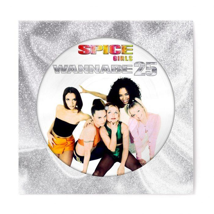 """Spice Girls """"Wannabe"""" EP cover art"""