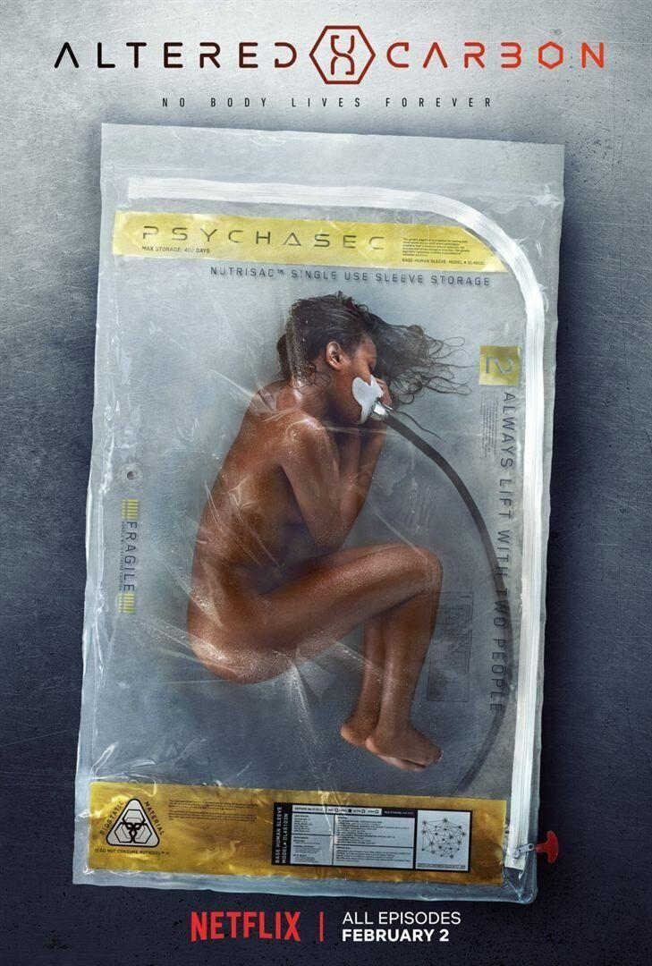 "La saison 2 de ""Altered Carbon"" arrive sur Netflix le 27 février (Photo: Netflix)"