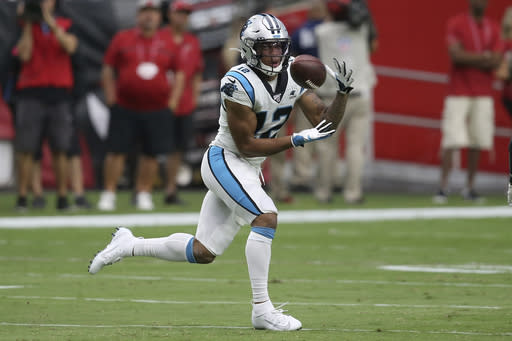 Panthers looking for more out of top receiver D.J. Moore