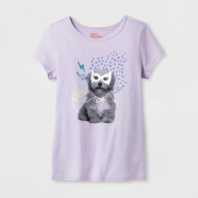 A T-shirt from Target's Cat & Jack sensory-friendly line. (Photo: Target)