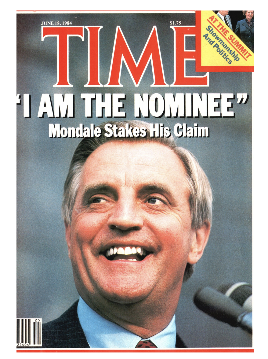 "The cover of TIME Magazine the week of June 18, 1984<span class=""copyright"">TIME Magazine</span>"