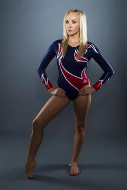 Gymnast Nastia Liukin poses for a portrait during the 2012 U.S. Olympic Team Media Summit in Dallas, May 14, 2012.