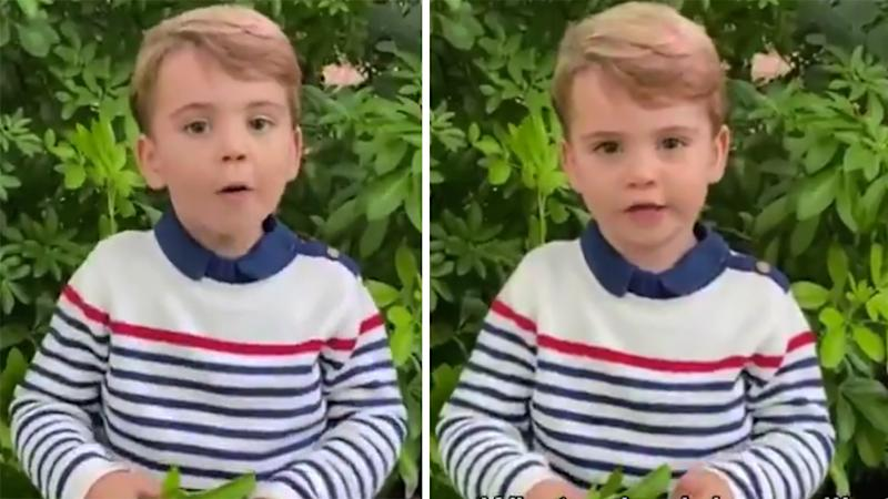 Prince Louise speaks in an adorable new royal video