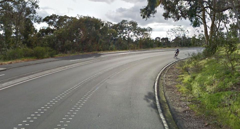Police are offering a $50,000 reward to find the person responsible for putting tacks on Melbourne's Yarra Boulevard (pictured). Source: Google Maps