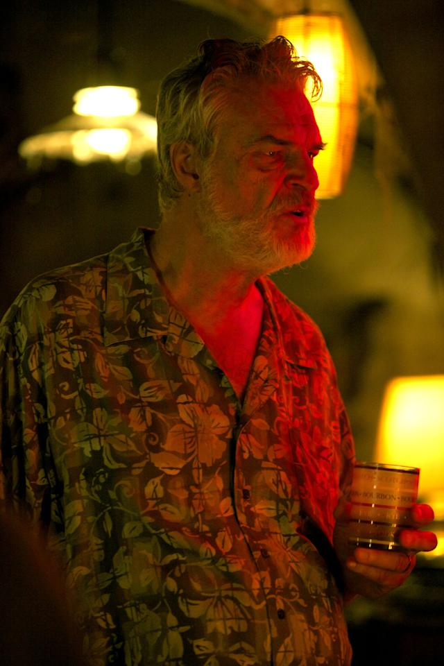 "Richard Moll as Finch in the Syfy Original Movie ""Ghost Shark."""