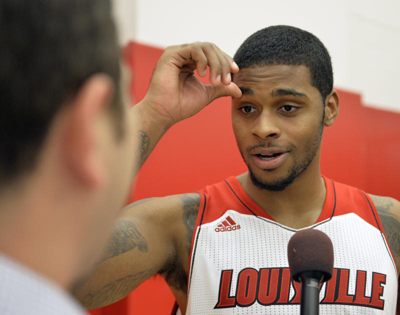 Louisville F Behanan suspended indefinitely