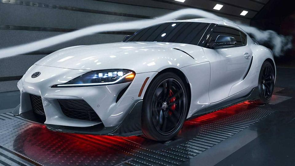 Limited-run Toyota Supra A91-CF Edition, with carbon fiber elements, revealed