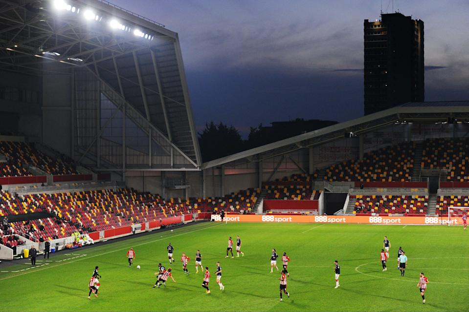 Brentford have yet to play a match at their new home with fans in attendanceGetty Images