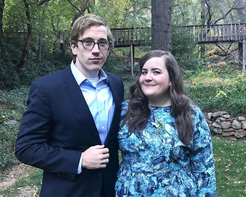 Conner O'Malley and Aidy Bryant | Aidy Bryant/Instagram
