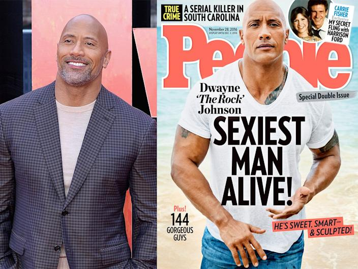 dwayne johnson people sexiest man