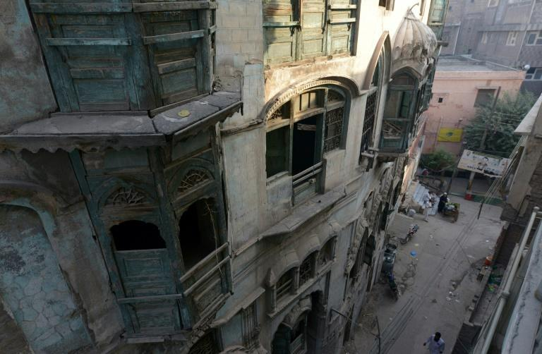 The more than 100-year-old ancestral home of late Indian Bollywood icon Raj Kapoor in Peshawar
