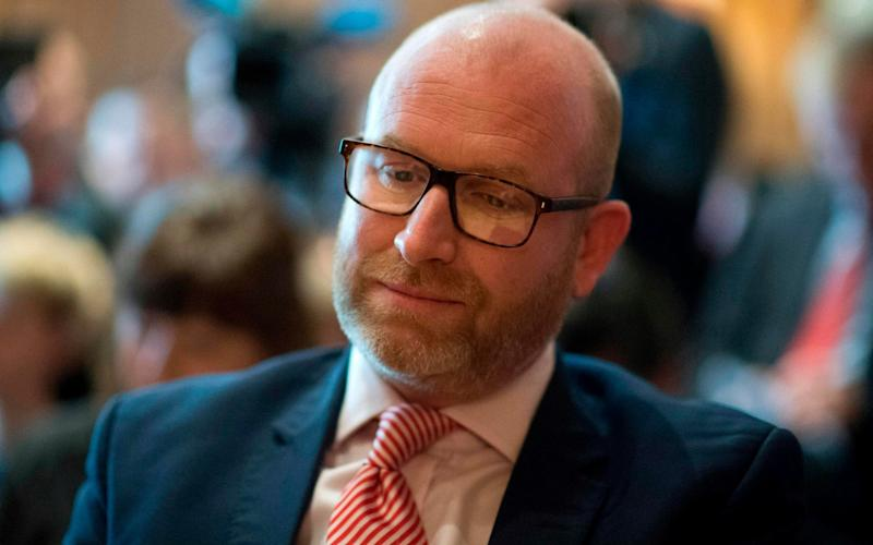 UKIP's Paul Nuttall will struggle to win Boston from the Tories - AFP
