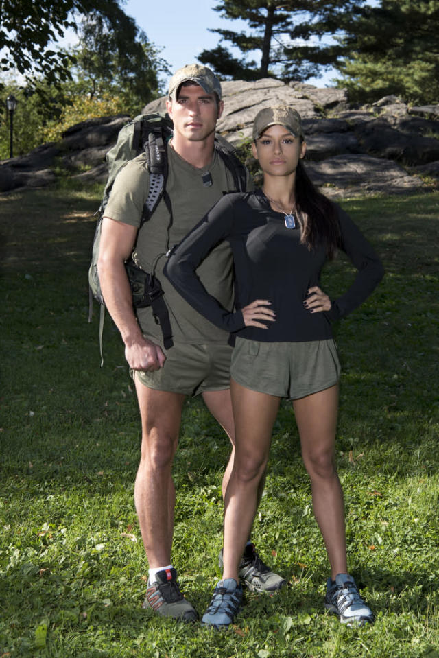 <p>Former <i>Big Brother</i> contestants from Plano, Texas, and Los Angeles<br><br>(Photo: John Paul Filo/CBS) </p>