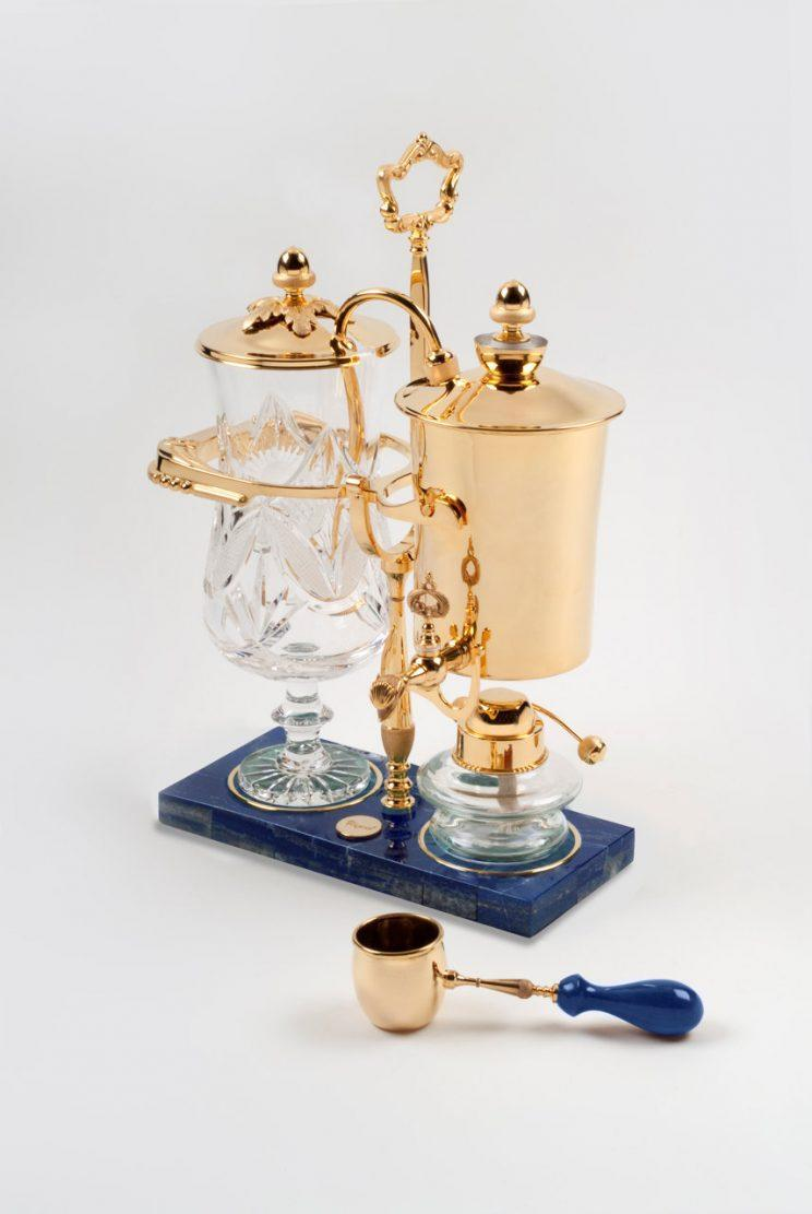 The £15,000 Royal Coffee Maker could be the most extravagant coffee maker in the world.