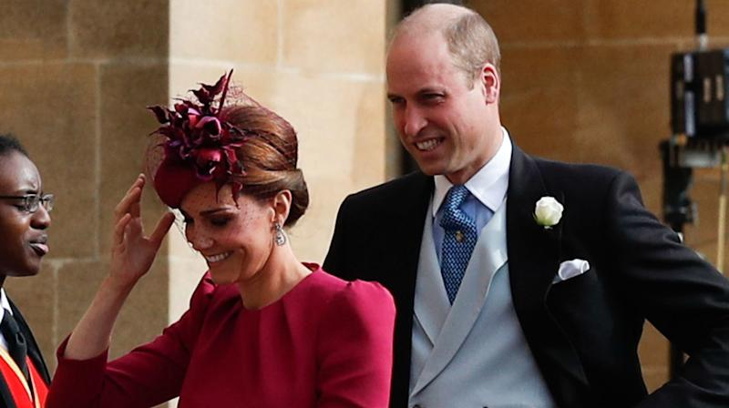 William And Kate Pulled A 'Harry And Meghan' At The Royal Wedding And Folks Flipped Out