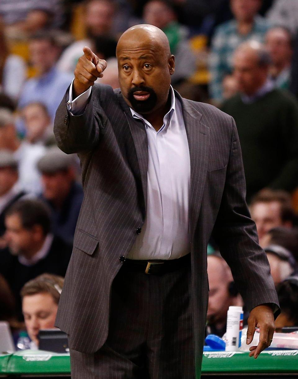 Mike Woodson was named the 30th men's basketball coach in Indiana history.