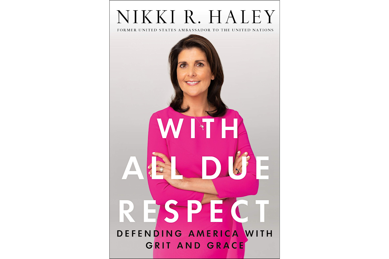 The cover of Haley's new book. (Image: Amazon.com)