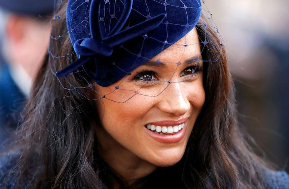 "<p>She told <a href=""https://www.allure.com/story/meghan-markle-suits-beauty-tips"" rel=""nofollow noopener"" target=""_blank"" data-ylk=""slk:Allure"" class=""link rapid-noclick-resp"">Allure</a> in 2017, 'The one thing that I cannot live without when I'm travelling is a small container of tea tree oil. It's not the most glamorous thing, but if you get a cut, a mosquito bite, a small breakout, no matter what it is, it's my little cure-all. It's inexpensive, it's small enough to carry on, and I bring it with me all the time.'</p>"