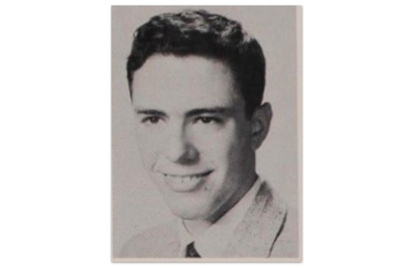 Bernie Sanders in his 1959 yearbook photo from James Madison High School in Brooklyn, NY. (Photo: classmates.com)