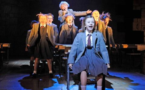 Matilda the Musical at the Cambridge Theatre - Credit: Alastair Muir