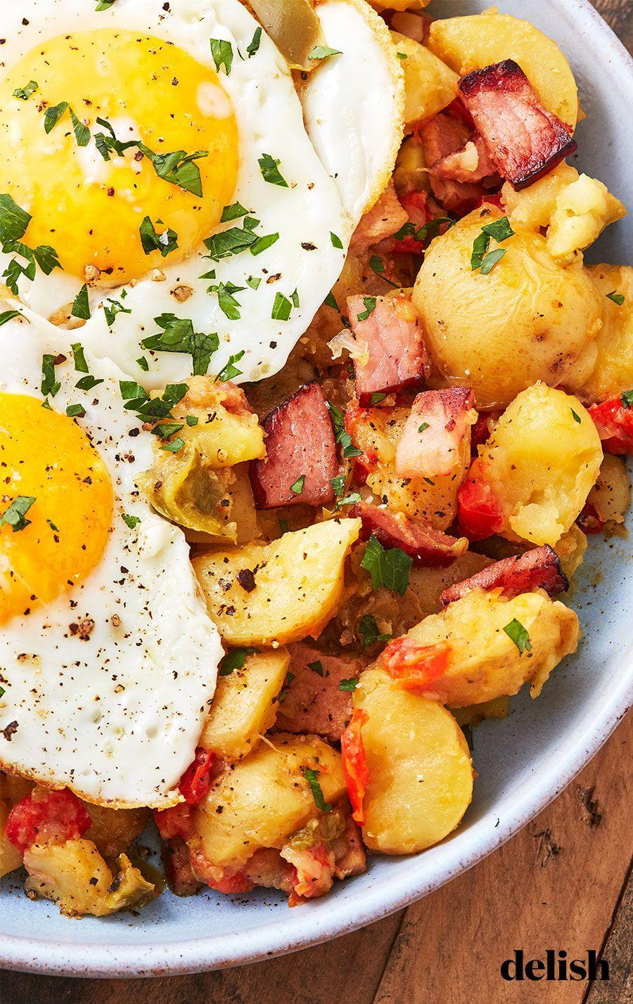 "<p>Veggies, potatoes, and protein are the keys to a filling breakfast.</p><p>Get the recipe from <a href=""https://www.delish.com/cooking/recipe-ideas/a27422695/instant-pot-hash-recipe/"" rel=""nofollow noopener"" target=""_blank"" data-ylk=""slk:Delish"" class=""link rapid-noclick-resp"">Delish</a>.</p>"