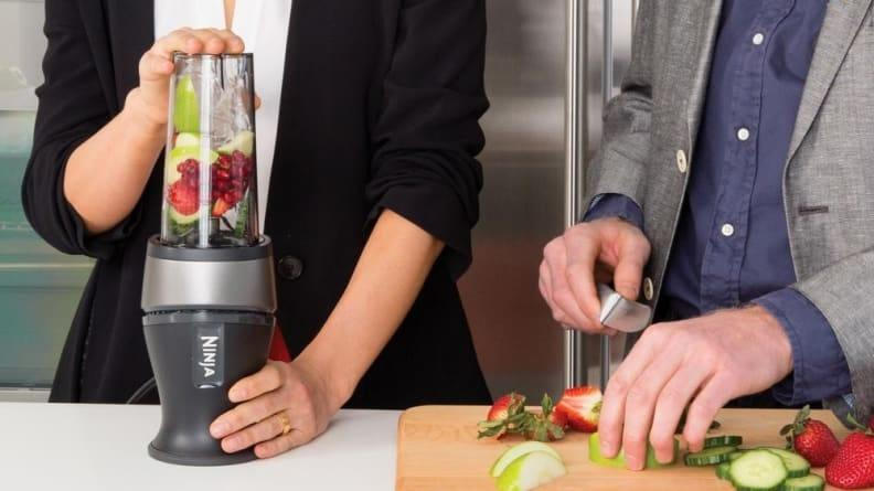 This compact blender aced all our tests thanks to its power and convenience.